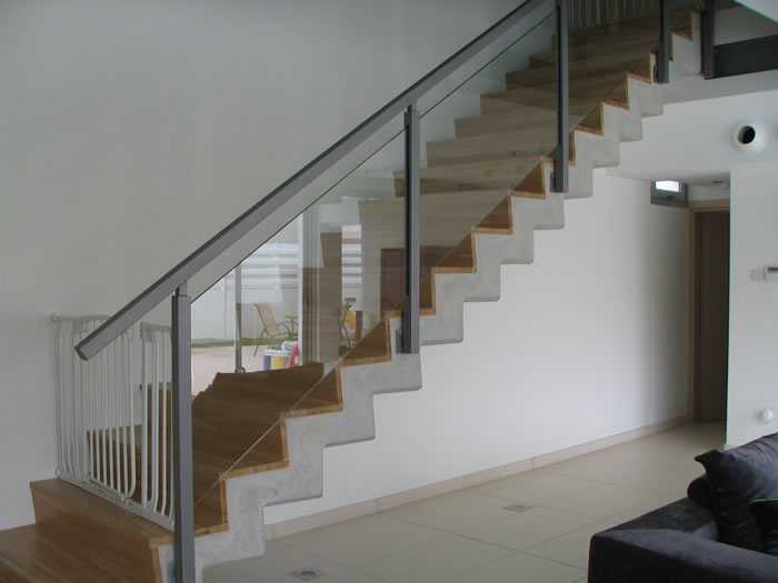 Modern Stair Banisters | Technometaliki